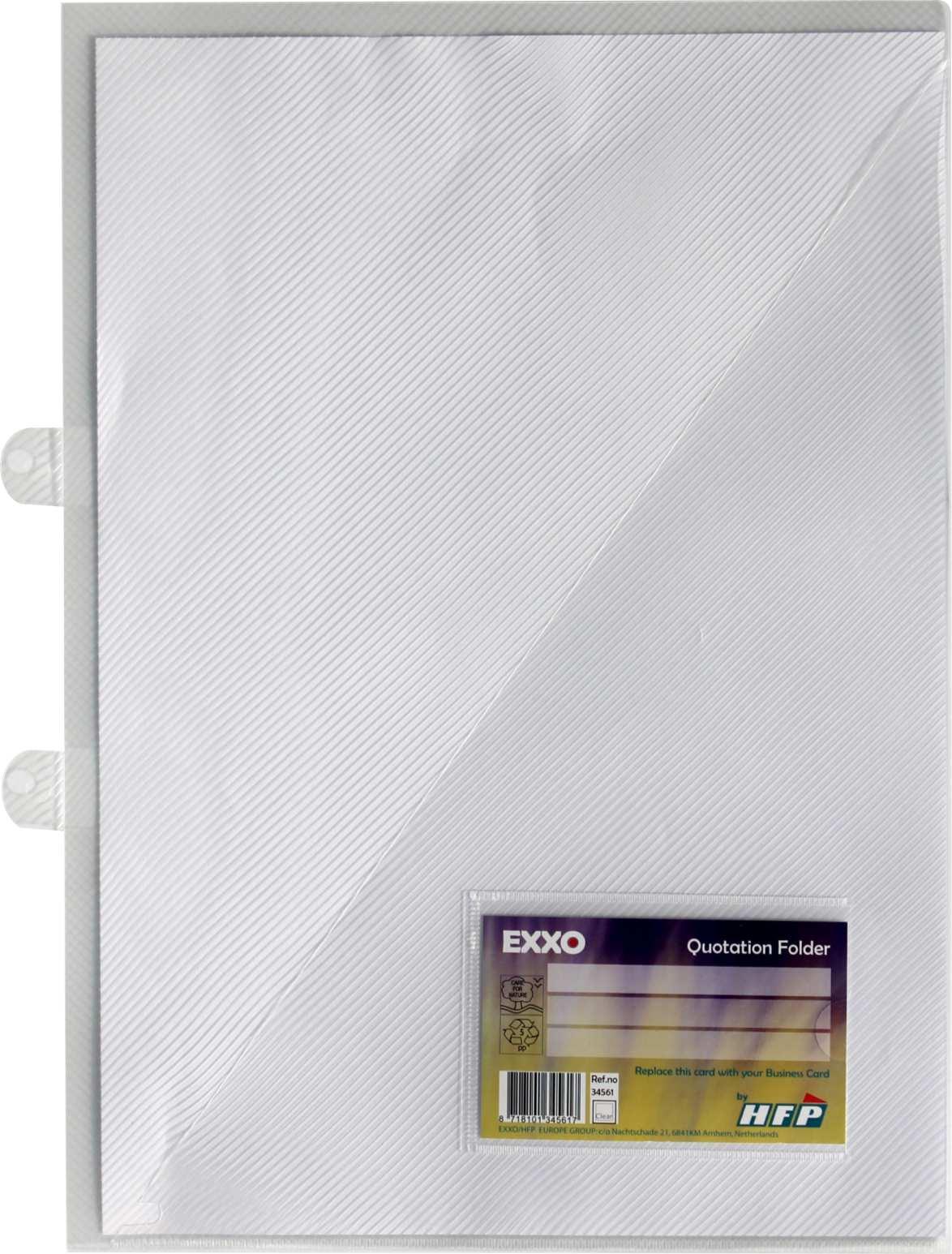 Angebotsmappen Einlegemappen A4 Transparent 10 Einlegemappen