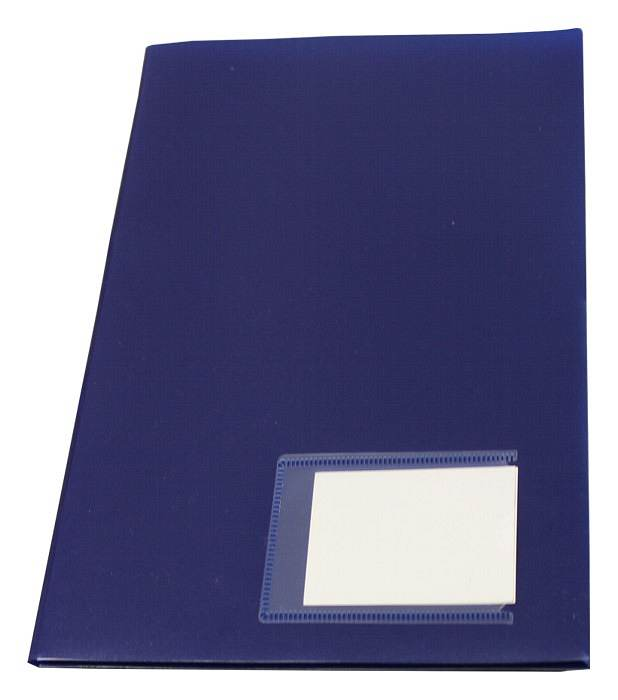 Angebotsmappe Broschürenmappe A4 Blau